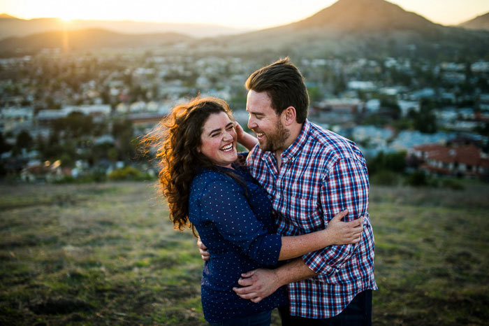 terrace hill san luis obispo engagement pictures