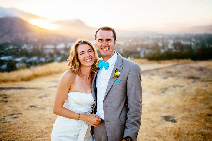 terrace hill sunset wedding photography san luis obispo