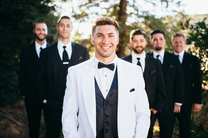 Chateau Margene at Limerock Orchard Paso Robles wedding photo