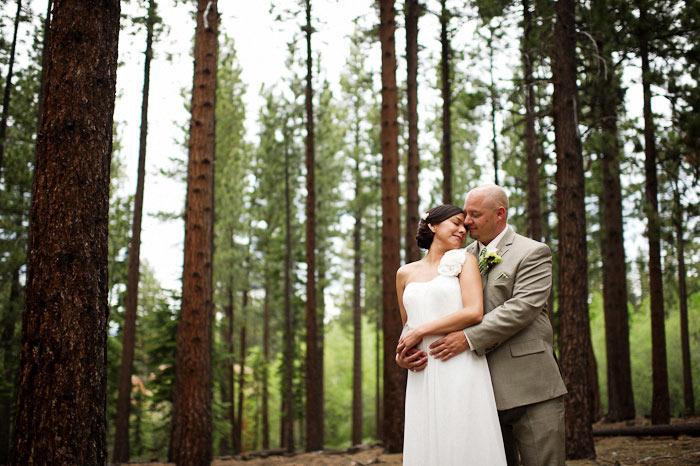 lakeside beach tahoe wedding photography