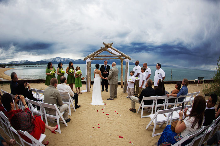 lakeside tahoe wedding photography