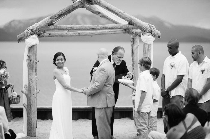 lakeside beach grill wedding photographers