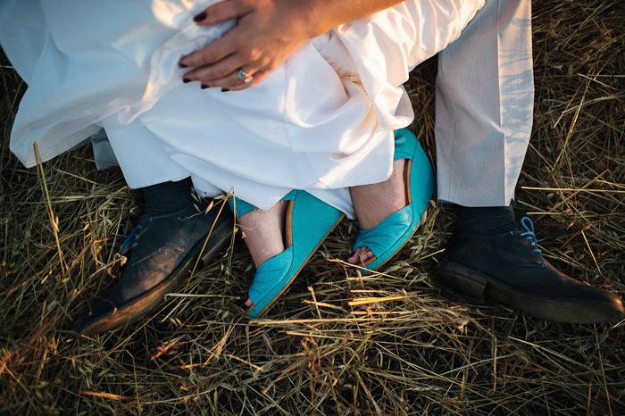 flying caballos ranch wedding photo