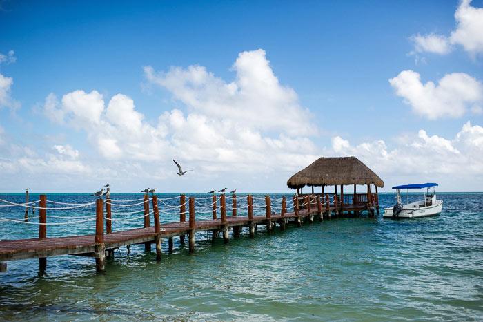 azul beach mexico cancun wedding photography