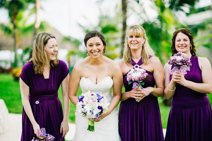 azul beach resort wedding in cancun mexico