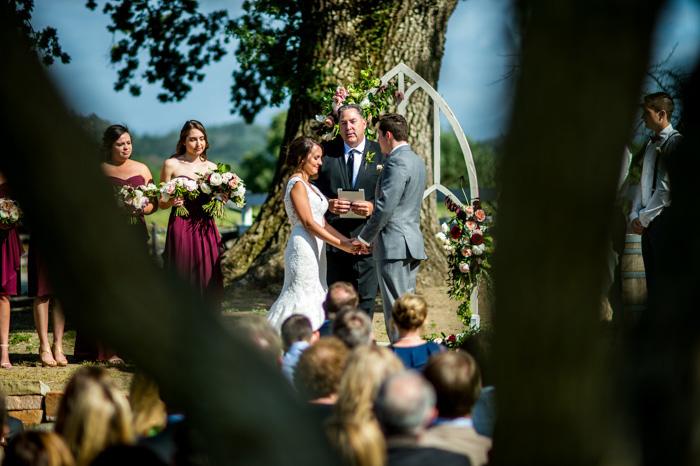 central coast barn wedding photography