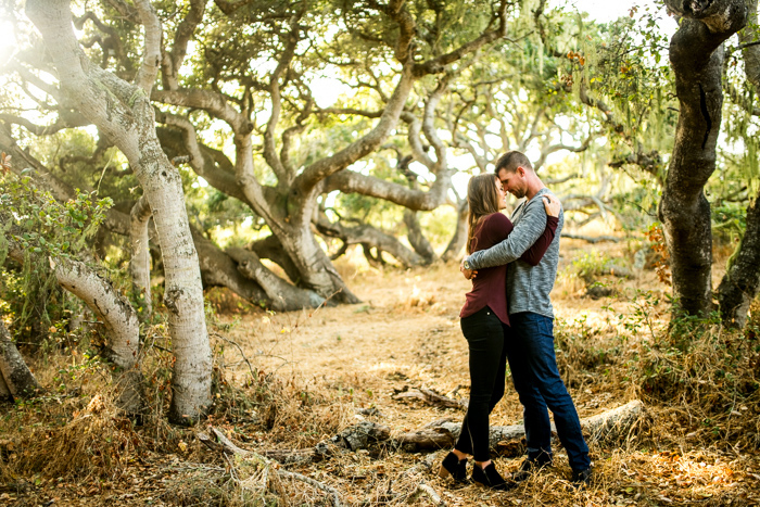 portraits engagement in san luis obispo california