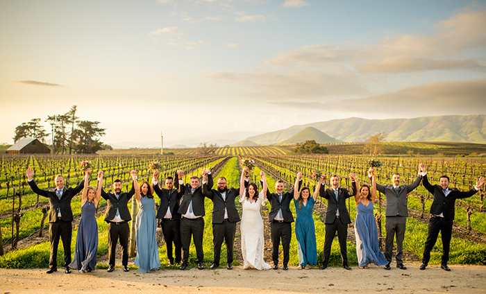 biddle ranch winery wedding photos san luis obispo